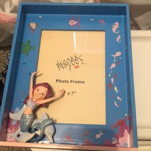 Other - Kids picture frame with Mermaid 5x7